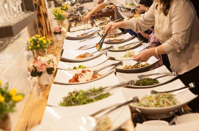 Catering untuk persiapan pernikahan